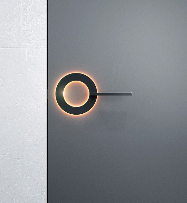 futuristic door handle